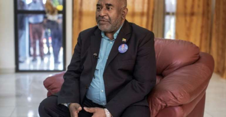The outgoing president of  Comoros Azali Assoumani is an authoritarian ex-soldier to his foes, a champion of democracy to supporters.  By GIANLUIGI GUERCIA (AFP/File)
