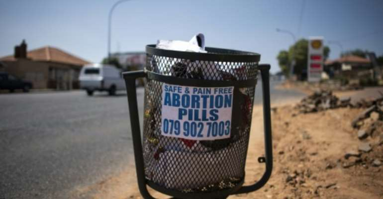 The pandemic has made access to abortion and contraception more difficult in South Africa, charities and health workers say.  By LUCA SOLA (AFP)