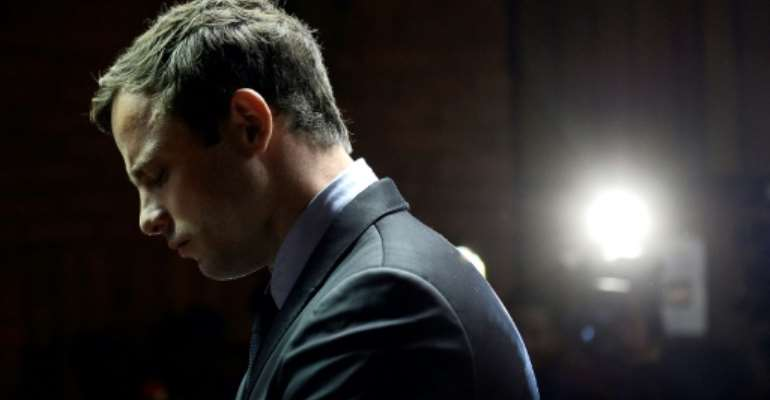 The Pistorius trial became a landmark event in South Africa's judicial history. On Friday, the Supreme Court of Appeal will hear a petition from prosecutors that his six-year term for murder was too low.  By STEPHANE DE SAKUTIN (AFP)