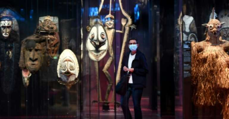 The Quai Branly museum in Paris houses priceless African artefacts that critics say should be returned to their homelands..  By FRANCK FIFE (AFP/File)