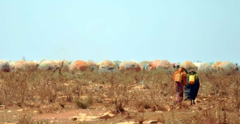 The report said Somalia was 'among the most climate-vulnerable countries in the world'.  By TONY KARUMBA (AFP)