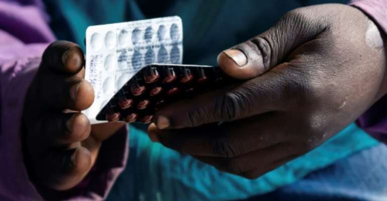 The Rutsanana Polyclinic is one of 10 pilot clinics in Harare offering free treatment for HIV, tuberculosis and diabetes.  By Jekesai NJIKIZANA (AFP)