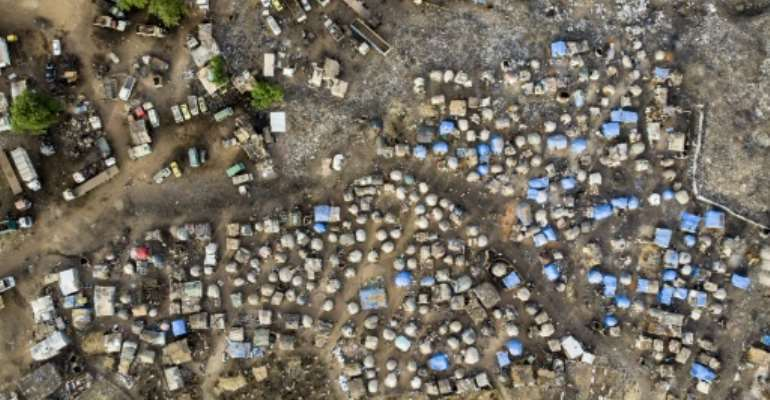 The Sahel is dotted with camps housing hundreds of thousands people who have fled jihadist violence.  By MICHELE CATTANI (AFP)