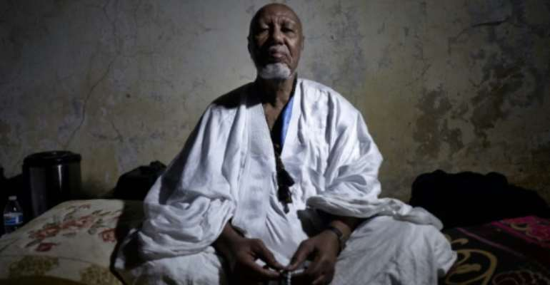 The sharif of Nioro, Mouhamedou Ould Cheick Hamahoullah.  By MICHELE CATTANI (AFP)