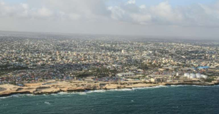 The Somali capital Mogadishu is the frequent target of attacks by the al-Shabaab Islamist fighters.  By Tina SMOLE (AFP)