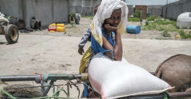 The Tigray conflict has pushed 400,000 people into famine, according to the UN.  By EDUARDO SOTERAS (AFP/File)