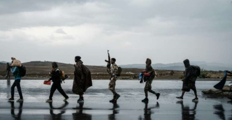 The Tigray Defence Forces (TDF) recaptured the regional capital Mekele at the end of June.  By Yasuyoshi Chiba (AFP/File)