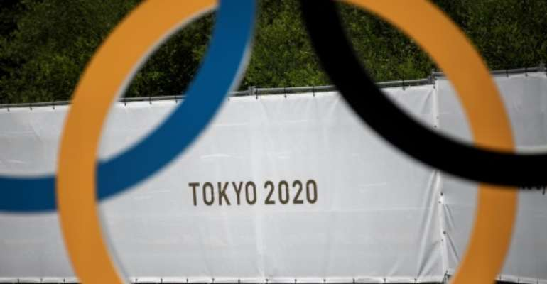 The Tokyo Olympics start on July 23.  By Behrouz MEHRI (AFP)