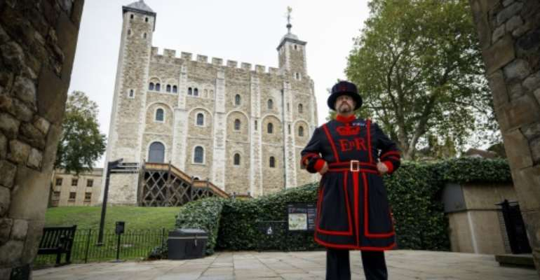 The Tower of London is one of six UK royal palaces facing a review of its historical ties to slavery.  By TOLGA AKMEN (AFP/File)
