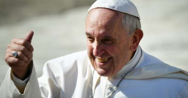 The two-day visit by Pope Francis to Morocco will include a mass in a Rabat stadium Sunday.  By Alberto PIZZOLI (AFP)