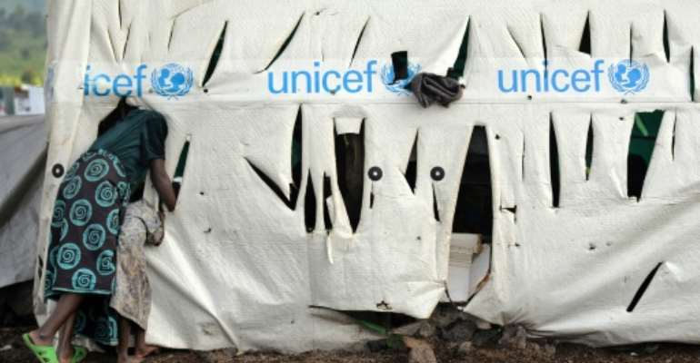 The UN Children's Fund UNICEF is among the agencies accused.  By TONY KARUMBA (AFP/File)