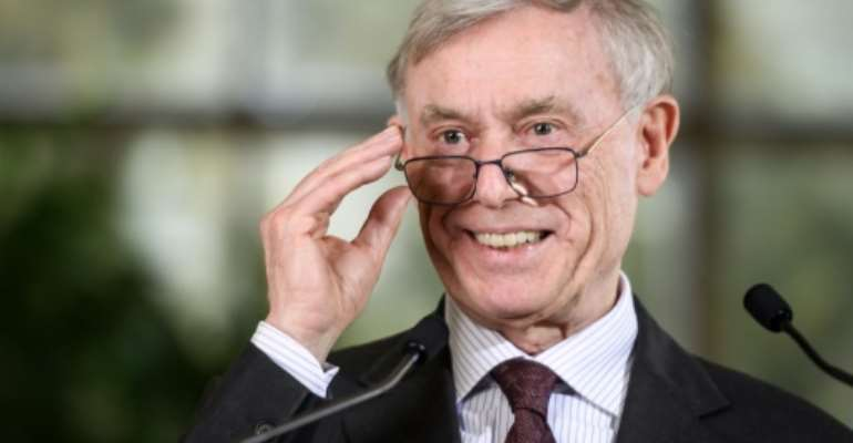 The UN envoy for Western Sahara, Horst Koehler, has resigned due to health reasons, nearly two years after he took up the post.  By Fabrice COFFRINI (AFP/File)