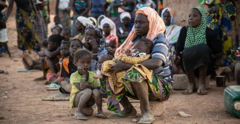 The UN refugee agency says 700,000 people have been internally displaced in Burkina Faso in the last 12 months.  By OLYMPIA DE MAISMONT (AFP/File)