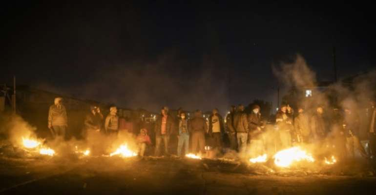 The unrest, the worst in post-apartheid South Africa, erupted a week ago.  By GUILLEM SARTORIO (AFP)