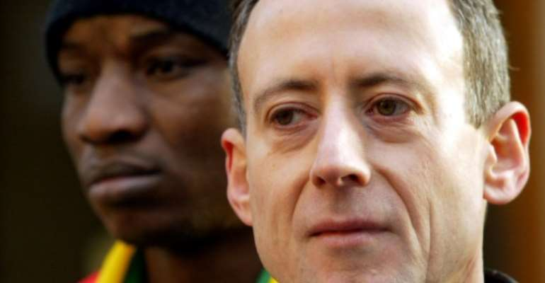 The veteran campaigner twice tried to arrest Mugabe.  By NICOLAS ASFOURI (AFP/File)