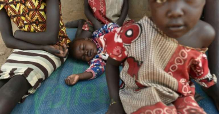 The war in South Sudan has triggered a worsening refugee crisis.  By TONY KARUMBA (AFP)