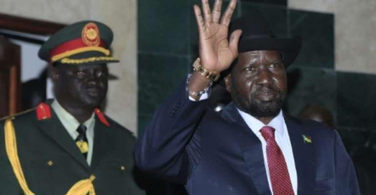 S. Sudan's Kiir Warns Against Violent Attempts To Usurp Power