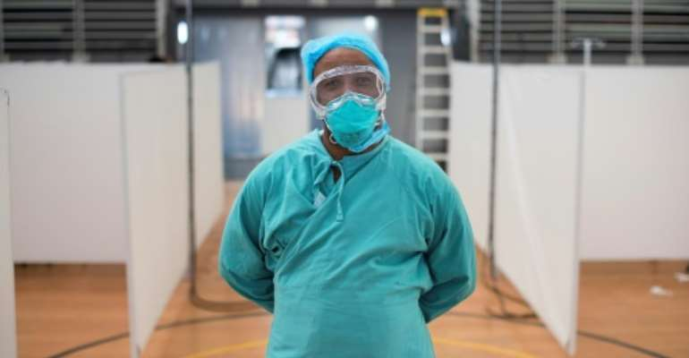 The Western Cape province accounts for two thirds of South Africa's coronavirus cases.  By RODGER BOSCH (AFP/File)