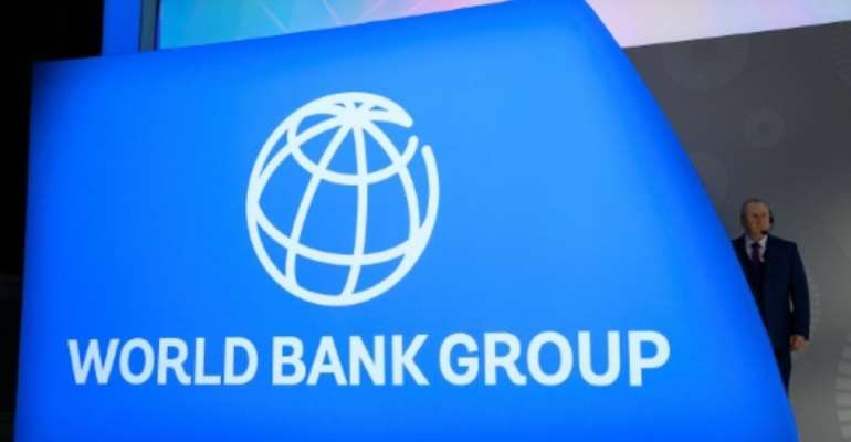 The World Bank published a study showing 7.5 percent of aid payments may leak out of needy countries into offshore accounts.  By Andrew CABALLERO-REYNOLDS (AFP/File)