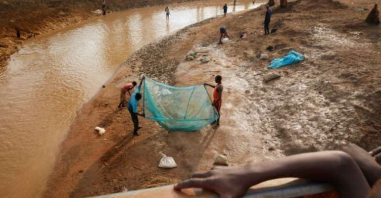 The World Food Programme says 5.5 million people in South Sudan could go hungry in early 2020 after a fierce drought in 2018 was followed by flooding this year.  By Alex McBride (AFP/File)