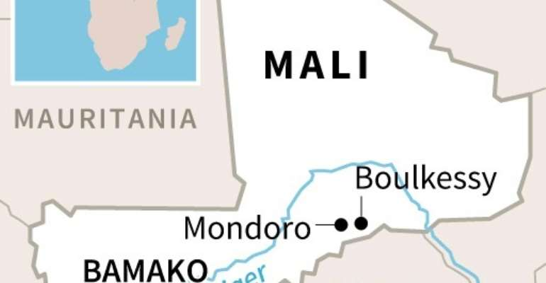 Thee suspected jihadist raids took place at Boulkessy and Mondoro, near Mali's border with Burkina Faso.  By  (AFP/File)