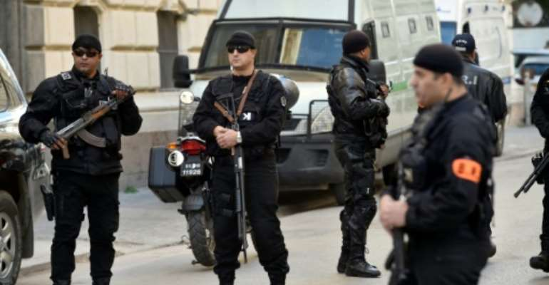 There was tight security outside the Algiers courthouse for the reading of the verdicts against former prime ministers Ahmed Ouyahia and Abdelmalek Sellal and other leading political and business figures.  By RYAD KRAMDI (AFP)
