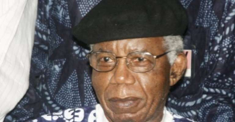 Chinua Achebe is widely respected for his writing exploring his native land and its colonisation.  By Abayomi Adeshida (AFP/File)
