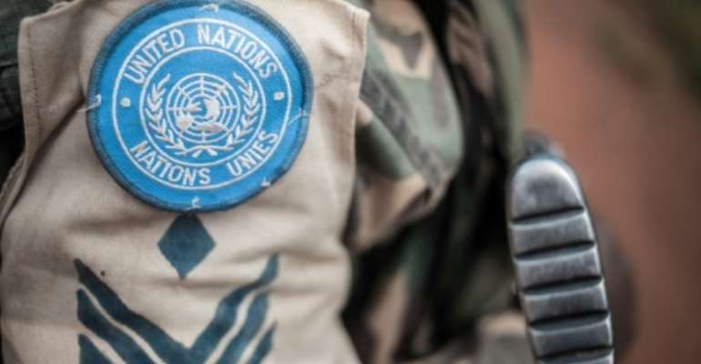 This is the latest in a series of allegations of sexual crimes involving peacekeepers.  By FLORENT VERGNES (AFP/File)