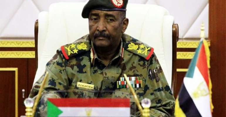 This photo released on April 16, 2019 by the Twitter account of the official Sudan News Agency (SUNA) shows Lieutenant General Abdel Fattah al-Burhan, the chief of Sudan's military council.  By - (SUDAN NEWS AGENCY/AFP/File)