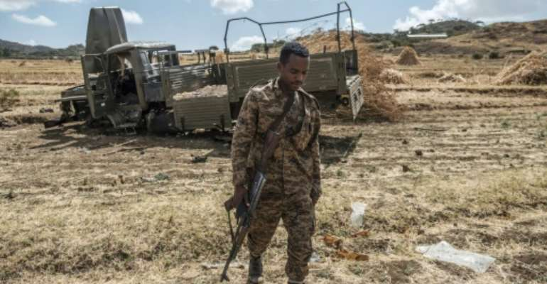 Thousands have died in the fighting in Ethiopia's northern Tigray region.  By EDUARDO SOTERAS (AFP/File)
