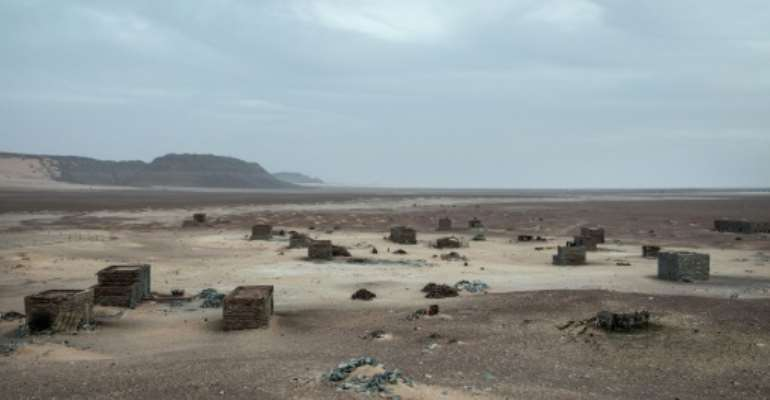 Tichitt was once a thriving town on the trans-Saharan caravan route but is all but forgotten today.  By JOHN WESSELS (AFP)