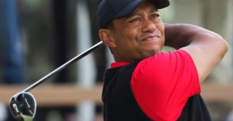 Tiger Woods will captain the United States team at next week's Presidents Cup golf in Melbourne.  By TOSHIFUMI KITAMURA (AFP)