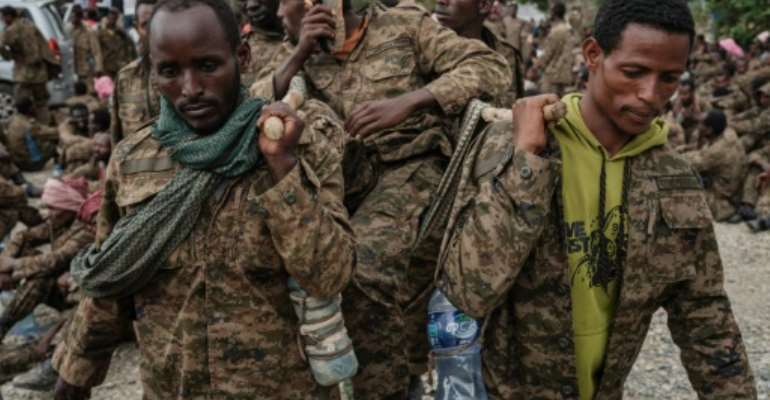 Tigray has been the scene of fighting since Prime Minister Abiy Ahmed sent the army in last November.  By Yasuyoshi Chiba (AFP)