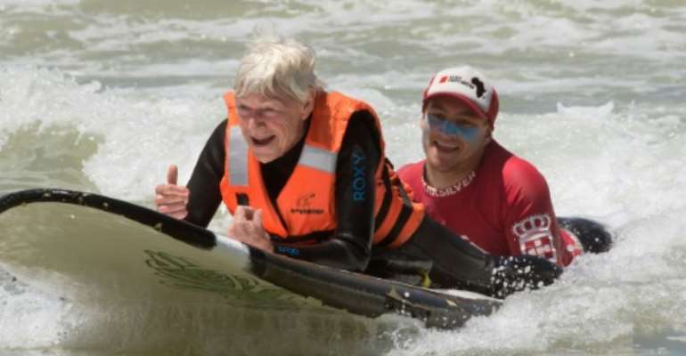 In South Africa, Disabled Surfers Thrill At Catching A Wave