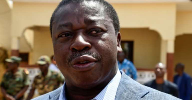 Togolese President Faure Gnassingbe has led the country since 2005.  By PIUS UTOMI EKPEI (AFP/File)