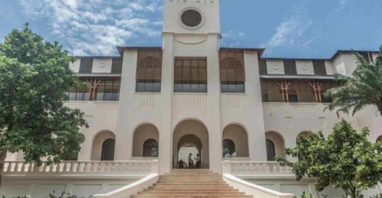 Togo's former Palace of Governors in Lome has been converted into a center of art and culture.  By Yanick Folly (AFP)