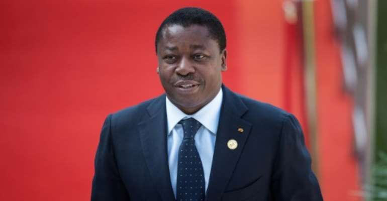 Togo's President Faure Gnassingbe has ruled the country for 15 years since taking over from his father.  By Michele Spatari (AFP/File)