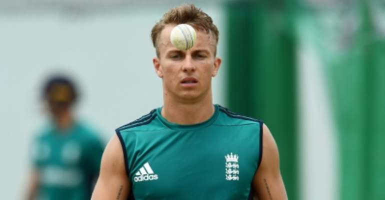 Tom Curran is one of five uncapped players called up by England for their three-match Twenty20 series against South Africa.  By Jewel SAMAD (AFP/File)