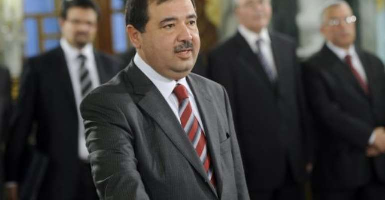 Tunisia Investment and International Cooperation Minister Riadh Bettaieb.  By Fethi Belaid (AFP/File)