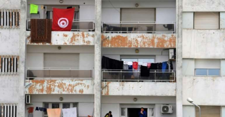 Tunisia has been under night-time curfew since March 17.  By FETHI BELAID (AFP/File)
