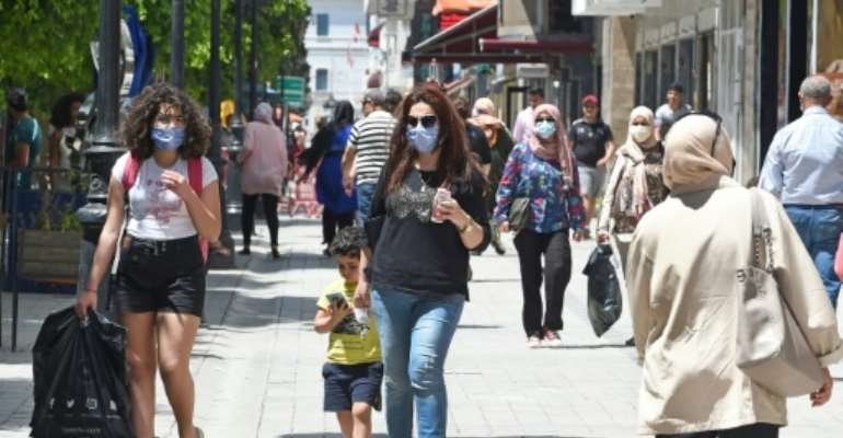 Tunisia has eased strict lockdown measures as COVID-19 cases stall with zero cases reported in five days.  By FETHI BELAID (AFP/File)