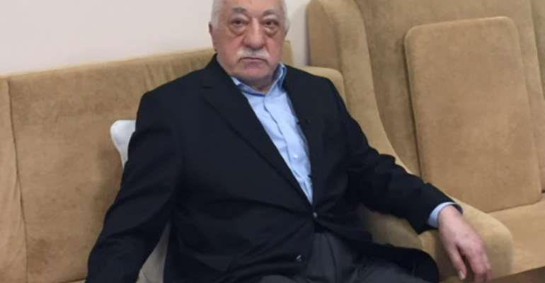 Turkish preacher Fethullah Gulen denies any links to the 2016 coup bid in Turkey.  By Thomas URBAIN (AFP)