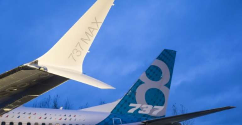 Two deadly crashes within months of each other forced a worldwide grounding of Boeing's 737 MAX airliners.  By STEPHEN BRASHEAR (GETTY IMAGES NORTH AMERICA/AFP/File)