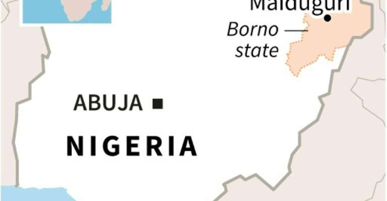 Two sources aid fatalities from the attack in restive Borno state had doubled as more bodies were found and included 12 policemen, five soldiers, four members of a government-backed militia and nine civilians.  By Sophie RAMIS (AFP/File)