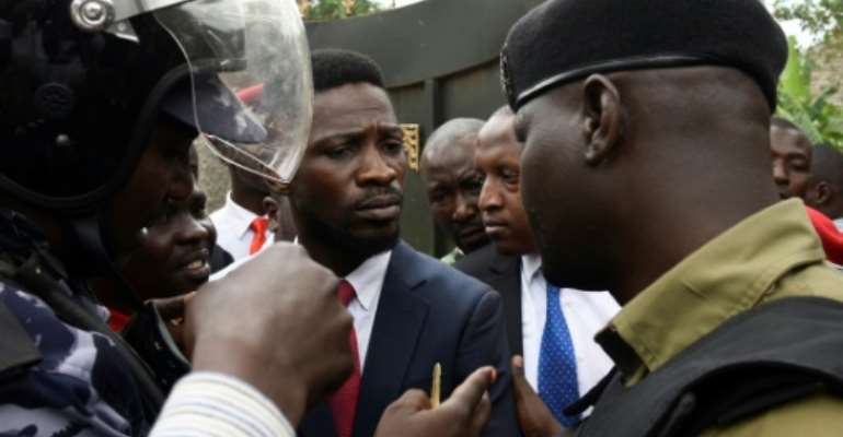 Ugandan musician turned politician Robert Kyagulanyi, commonly known by his stage name Bobi Wine has been placed under