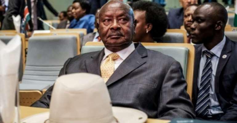 Uganda's President Yoweri Museveni Museveni once said leaders who