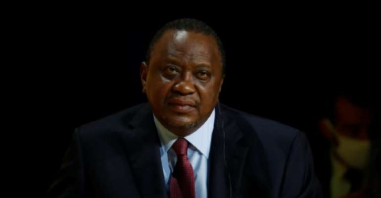 Uhuru Kenyatta said judges 'have tested our constitutional limits' by ruling against him.  By GONZALO FUENTES (POOL/AFP/File)
