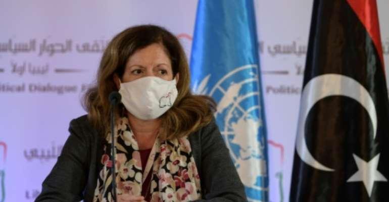 UN acting envoy to Libya Stephanie Williams says Libya talks underway in Tunisia are