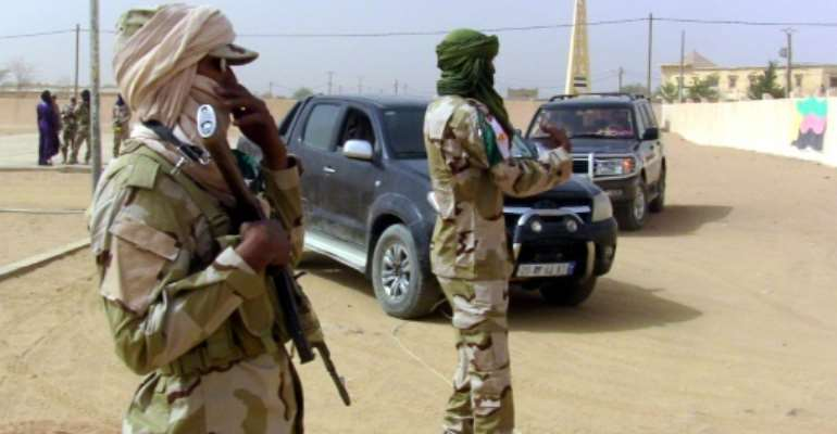 Mali's vast, desolate north continues to be beset by violence, having fallen under the control of Tuareg-led rebels and jihadist groups linked to Al-Qaeda in 2012.  By  (AFP)
