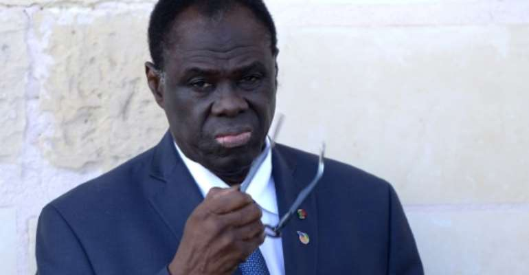 UN ambassador to Burundi, Michel Kafando, served as Burkina Faso's interim president from 2014 to 2015.  By FILIPPO MONTEFORTE (AFP/File)